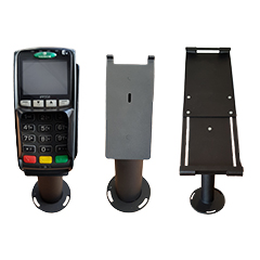Point of sale brackets, mounts and stands for your reception area, restaurant or conference venue.